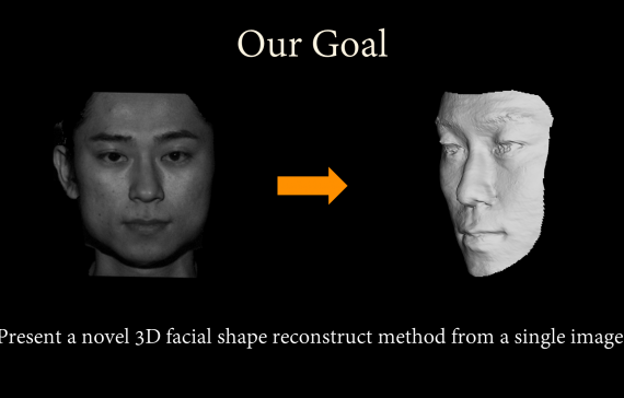 3D Facial Geometry Reconstruction using Patch Database