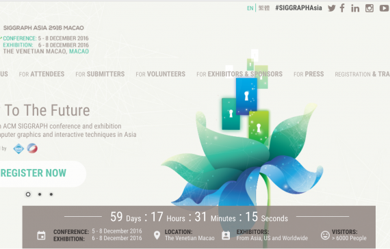 ACM SIGGRAPH ASIA 2016