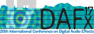 20th International Conference on Digital Audio Effects (DAFx17)