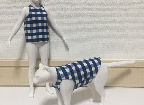 可展面制約を考慮したテンプレートベース衣服モデリング