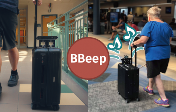BBeep: A Sonic Collision Avoidance System for Blind Travellers and Nearby Pedestrians