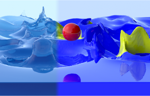 Asynchronous Eulerian Liquid Simulation