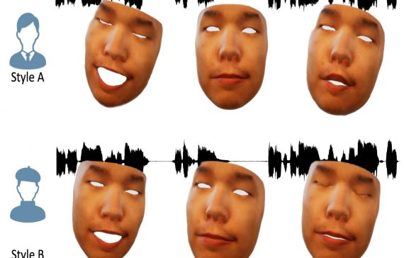 Style Controllable Facial Animation Synthesis from SInging Audio
