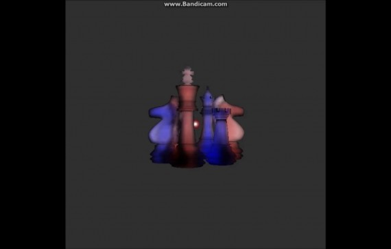 Real-time Rendering of Heterogeneous Translucent Objects using Voxel Number Map